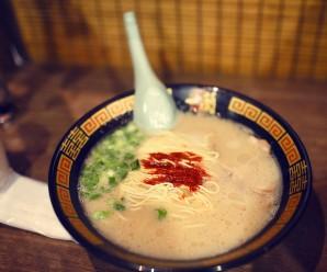 日本二巡 / Day-1 新宿一蘭拉麵晚餐和Windsor羽球店